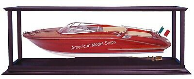 Display Case Self-assemble Ship included Acrylic for Speed Boats