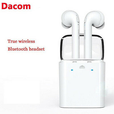 GF7 TWS Wireless Bluetooth 4.2 Earphone Headphone Airpods W/ Mic Earbud Headset