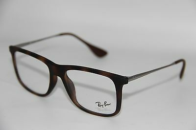 a3ca1f2aef New Ray-Ban Rb 7054F 5365 Havana Eyeglasses Authentic Rx Rb7054F W case 53