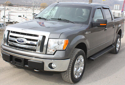 iBoard Black Running Boards Style Fit 09-14 Ford F150 SuperCrew Cab
