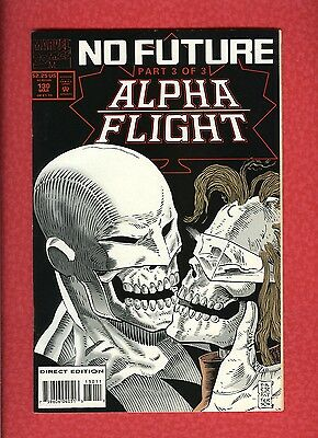 Alpha Flight #130 (1983 Marvel) VF 8.0 Last Issue Low Print
