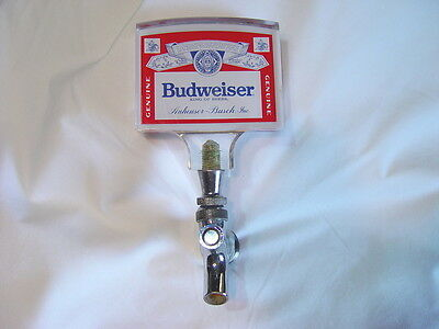Vintage Budweiser Beer Tap Handle and Spout
