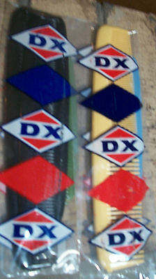 DX Sunoco Oil 2 PKG ( 8 COMBS) PREMIUM WITH GAS FILL UP 50+ YEARS Old New Stock
