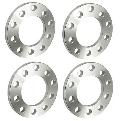"4pc 1/2"" inch 5x4.5 Wheel Spacers 5 lug Flat Billet Spacer T6061 Forged"