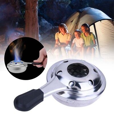 Alcohol Stove Fuel Emergency Survival Outdoor Hike Windproof Cooking Burner