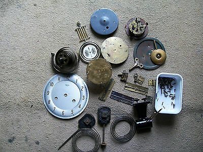 Clock spare parts bits for spares or repair