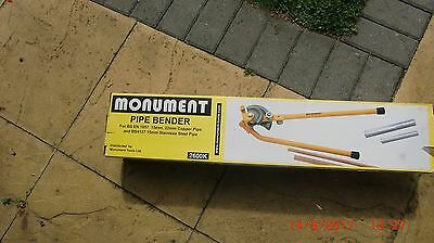 Tube bender plumbing 15 mm and 22 mm Monument tools
