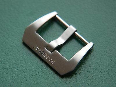22mm Brushed 316L Stainless Steel Tang Buckle For Panerai Watch.