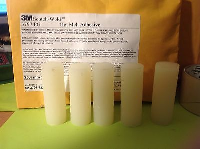 3m Scotch Weld Adhesive 3797 PG , Pack of 5 Sticks. L@@K