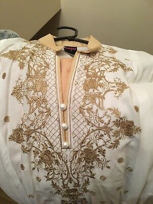 embroidered Ready Made Suit