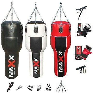 Maxx Junior boxing punch Bag set with Bracket / Hook + 6oz gloves FREE hand wrap