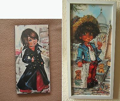 Big Eyed Girl and The Beatles by Idylle Jolylle Falconi + Michel T. Bild Artist