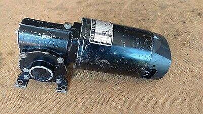 """Bodine Electric 141Fa2026 2500 Rpm 1/8Hp Motor Gearbox 10:1 Ratio 5/8"""" Shaft"""
