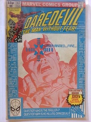 Daredevil Vol. 1 - #167 | The Mauler | Marvel Comics - November 1980