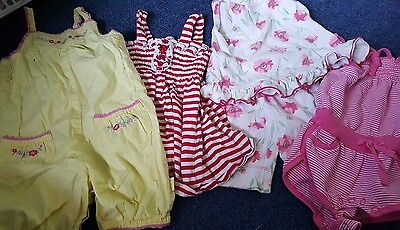 girls size 000 0-3 months summer bundle sprout and pumpkin patch