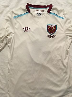 West Ham Football Shirt Away Picclick Uk
