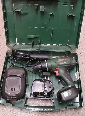 Bosh psb 18v LI-2  Lithium-Ion hammer drill 2 battery's