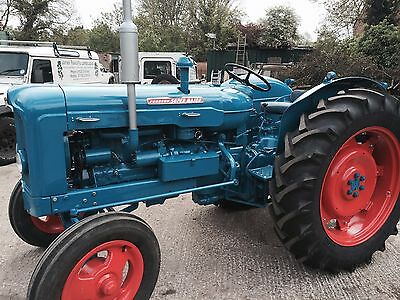 Fordson super major diesel tractor- show condition