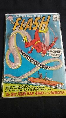 DC THE FLASH #154 1965 Vintage Comic.