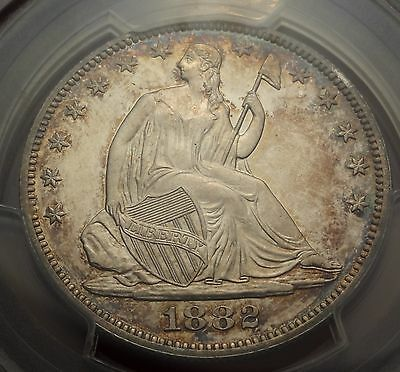 PCGS PR64CAM 1882 Seated Liberty Half Dollar Better Date Cameo Proof 50C