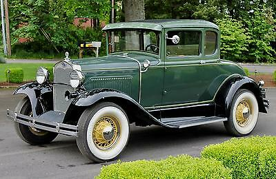 1930 Ford Model A  1930 Ford Model A Coupe, SET UP FOR TOURING WITH MANY UPGRADES, BEAUTIFUL!