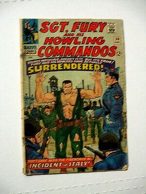 Sgt. Fury And His Howling Commandos # 30 G