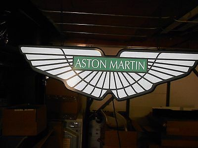 Aston Martin Lighted Signs