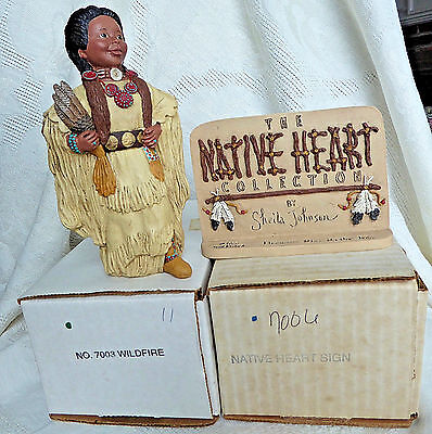 All God's Children RARE Native Heart Collection lot, Miss Martha Holcombe NIB