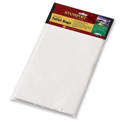 Portable Toilet Bags 36 Stansport Camp Outdoor Camping Replacement Waste Trash