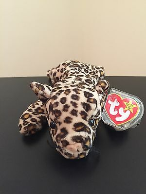 Ty Original Beanie Babies FRECKLES The Leopard (RETIRED)