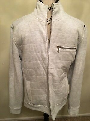 INC International Concept Men's Winter Zip Up Jacket Sweater Size Medium
