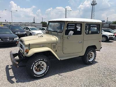 1976 Toyota Land Cruiser  1976 Toyota Land Cruiser FJ40