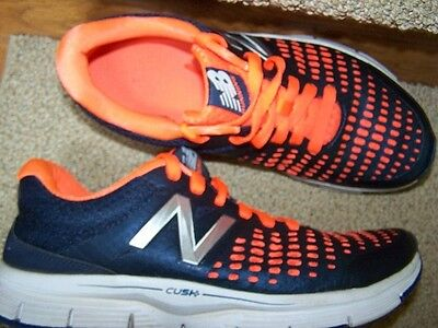 New Balance NexttoNEW Running Shoes Mens 8.5D NAVY/ HOT CORAL Trainers Sneakers