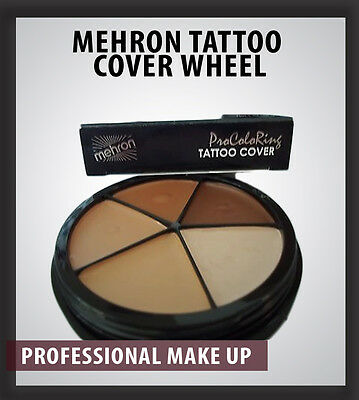 Mehron Tattoo Cover Pro ColoRing Professional Theatre Makeup Special Effects