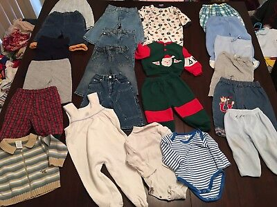 Baby Boys Clothes 6-12 Month Size 0 Bulk Lot Winter 20 Items Lot 5