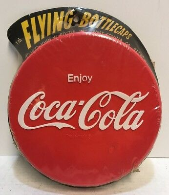 71 Vintage Enjoy Coca-Cola Flying Bottlecap Frisbee