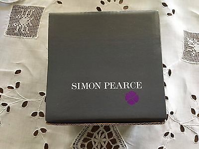 Simon Pearce Crystal Clock - Brand New - in Box! - High Quality - Made in USA