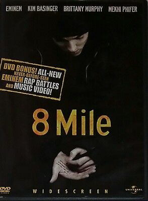 8 Mile Widescreen Edition (2003, DVD) A811