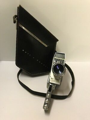Vintage BELL & HOWELL ZOOMATIC Director Series Pistol Grip Movie Camera & Case