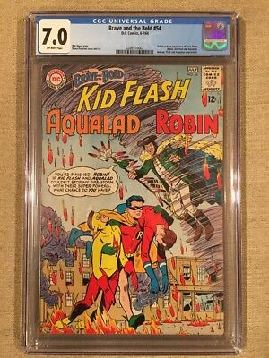 The Brace And The Bold #54 CGC 7.0 1st Appearance Of The Teen Titans