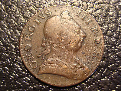 Revolutionary War Era 1775 Great Britain Half Penny WE COMBINE ON SHIPPING