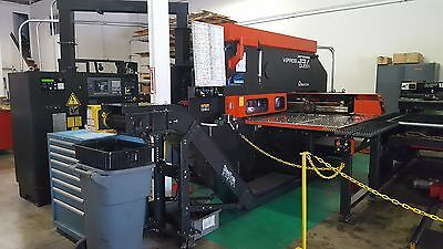 AMADA VIPROS 357 QUEEN CNC TURRET PUNCH PRESS with AUTO LOADER