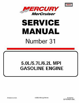 2001 mercury mercruiser service manual 31 mx 6 2 mpi engine drive rh picclick com Mercruiser 350 HP Outboard 502 Mercruiser Sea Pump Parts