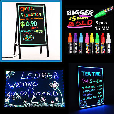 LED/Neon/Fluorescent Writing Advertising Board Whiteboard Flash Signage Sign