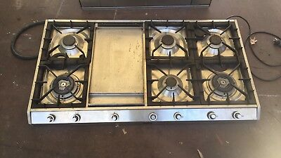 i ILVE Oven And 6 Burner Cook Top With Teppanyaki Hot Plate ! ITALIAN MADE