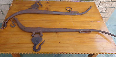 Antique Hames Horse Yokes, With Makers Mark.  Collectible