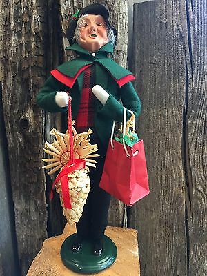 Byers Caroler Granfather Shopper New Numbered 30/100