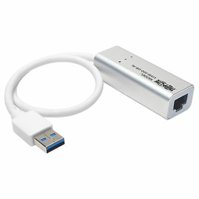 Tripp Lite USB 3.0 SuperSpeed to Gigabit Ethernet NIC Network Adapter - USB 3.0