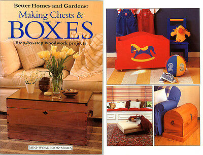 Diy Woodworking Book - Making Chests & Boxes