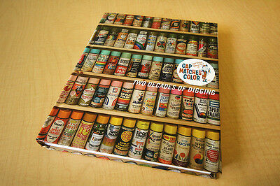 Cap Matches Color Two Decades of Digging Hardcover Book VTG Spray Paint 1st